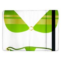 Green Swimsuit Samsung Galaxy Tab Pro 12 2  Flip Case