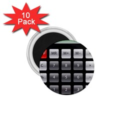 Calculator 1 75  Magnets (10 Pack)