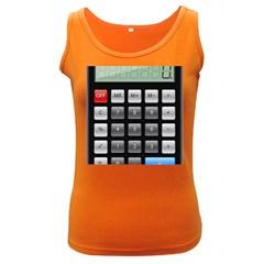 Calculator Women s Dark Tank Top