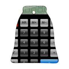 Calculator Bell Ornament (two Sides)