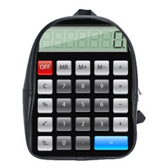 Calculator School Bags (xl)