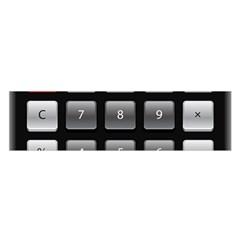 Calculator Satin Scarf (oblong)