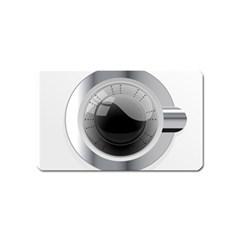 White Washing Machine Magnet (name Card)