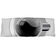 White Washing Machine Body Pillow Case (dakimakura)