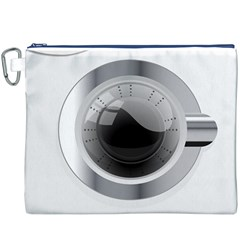 White Washing Machine Canvas Cosmetic Bag (xxxl)