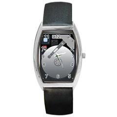 Computer Hard Disk Drive Hdd Barrel Style Metal Watch