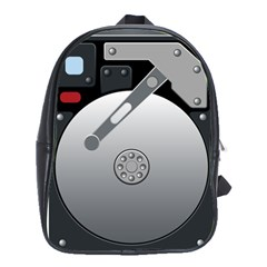 Computer Hard Disk Drive Hdd School Bags(large)