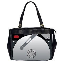 Computer Hard Disk Drive Hdd Office Handbags (2 Sides)