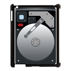Computer Hard Disk Drive Hdd Apple Ipad 3/4 Case (black)