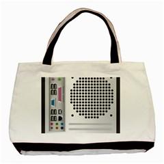 Standard Computer Case Back Basic Tote Bag (two Sides)