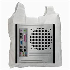 Standard Computer Case Back Recycle Bag (two Side)