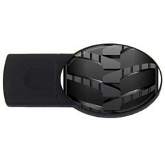 Tire Usb Flash Drive Oval (4 Gb)