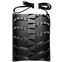 Tire Shoulder Sling Bags