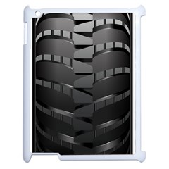 Tire Apple Ipad 2 Case (white)