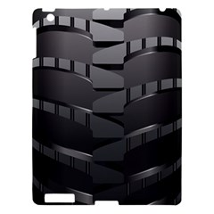 Tire Apple Ipad 3/4 Hardshell Case