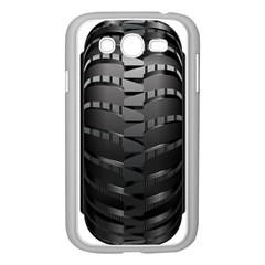 Tire Samsung Galaxy Grand Duos I9082 Case (white)
