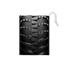 Tire Drawstring Pouches (small)