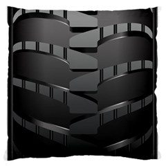 Tire Large Flano Cushion Case (one Side)