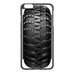 Tire Apple Iphone 6 Plus/6s Plus Black Enamel Case
