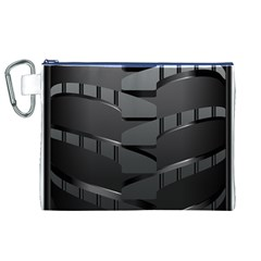 Tire Canvas Cosmetic Bag (xl)
