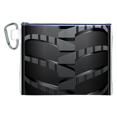 Tire Canvas Cosmetic Bag (xxl)