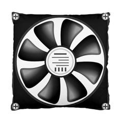 12v Computer Fan Standard Cushion Case (two Sides)
