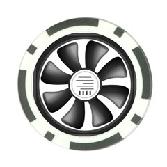 12v Computer Fan Poker Chip Card Guard (10 Pack)