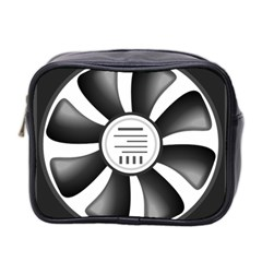 12v Computer Fan Mini Toiletries Bag 2 Side