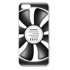 12v Computer Fan Apple Seamless Iphone 5 Case (clear)