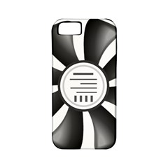 12v Computer Fan Apple Iphone 5 Classic Hardshell Case (pc+silicone)