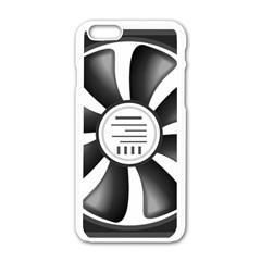 12v Computer Fan Apple Iphone 6/6s White Enamel Case