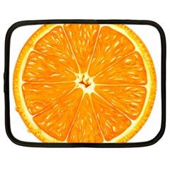 Orange Slice Netbook Case (xl)