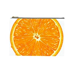 Orange Slice Cosmetic Bag (large)