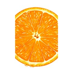 Orange Slice Shower Curtain 48  X 72  (small)
