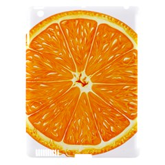 Orange Slice Apple Ipad 3/4 Hardshell Case (compatible With Smart Cover)