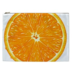 Orange Slice Cosmetic Bag (xxl)