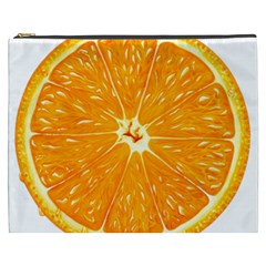 Orange Slice Cosmetic Bag (xxxl)