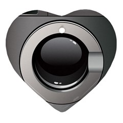 Washing Machine Heart Ornament (two Sides)