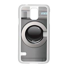 Washing Machine Samsung Galaxy S5 Case (white)
