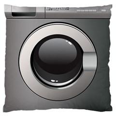 Washing Machine Large Flano Cushion Case (one Side)