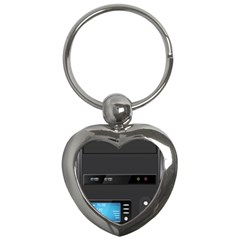 Standard Computer Case Front Key Chains (heart)