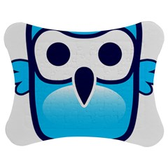 Owl Logo Clip Art Jigsaw Puzzle Photo Stand (bow)
