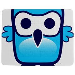 Owl Logo Clip Art Jigsaw Puzzle Photo Stand (rectangular)