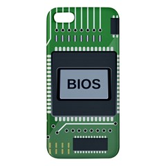 Computer Bios Board Iphone 5s/ Se Premium Hardshell Case