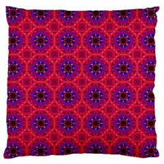 Retro Abstract Boho Unique Large Cushion Case (two Sides)