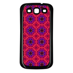 Retro Abstract Boho Unique Samsung Galaxy S3 Back Case (black)