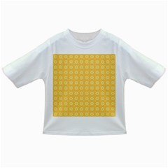 Yellow Pattern Background Texture Infant/toddler T Shirts