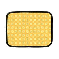Yellow Pattern Background Texture Netbook Case (small)