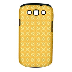 Yellow Pattern Background Texture Samsung Galaxy S Iii Classic Hardshell Case (pc+silicone)