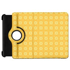 Yellow Pattern Background Texture Kindle Fire Hd 7